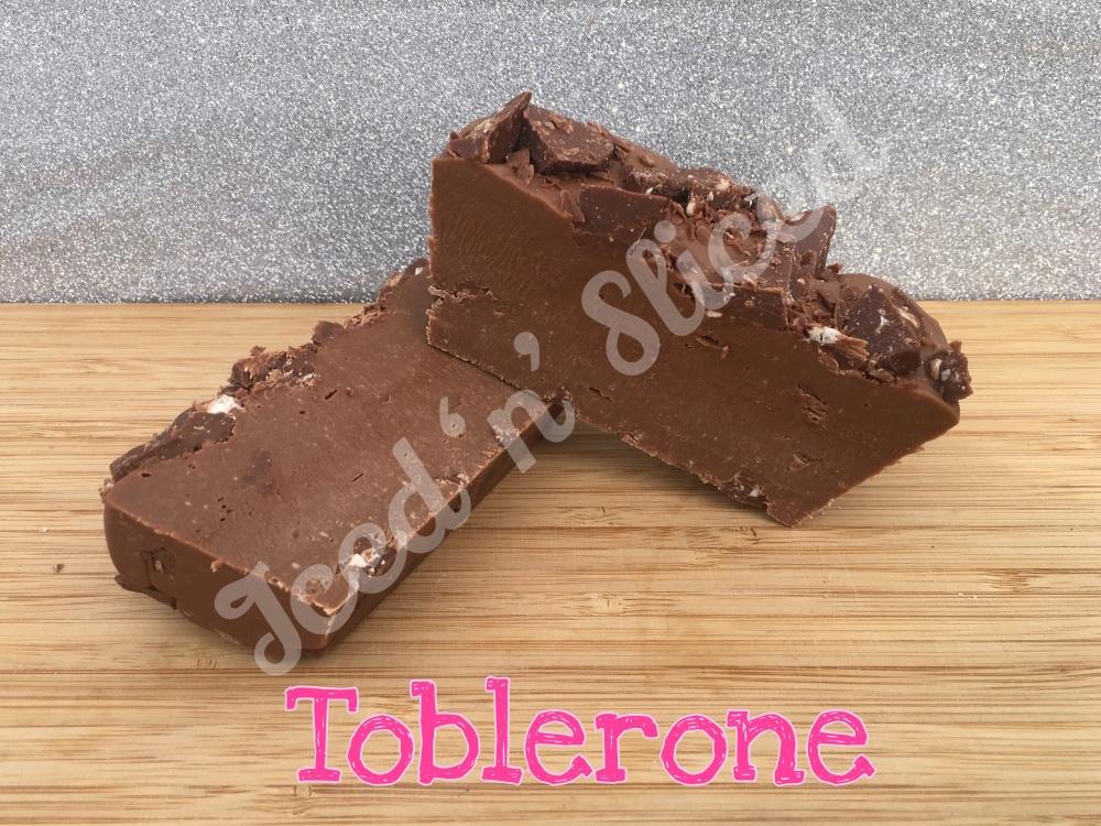 Toblerone mini fudge loaf