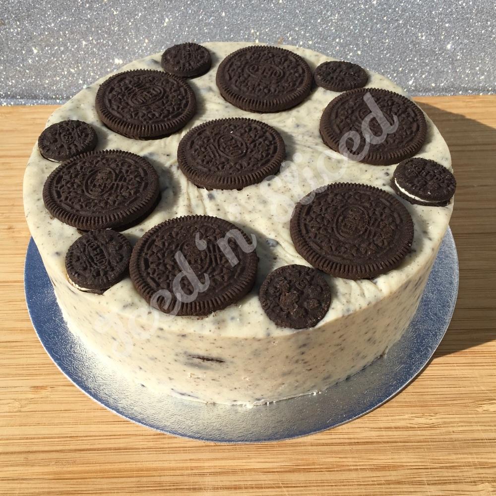 NEW Cookies & Cream solid fudge cake