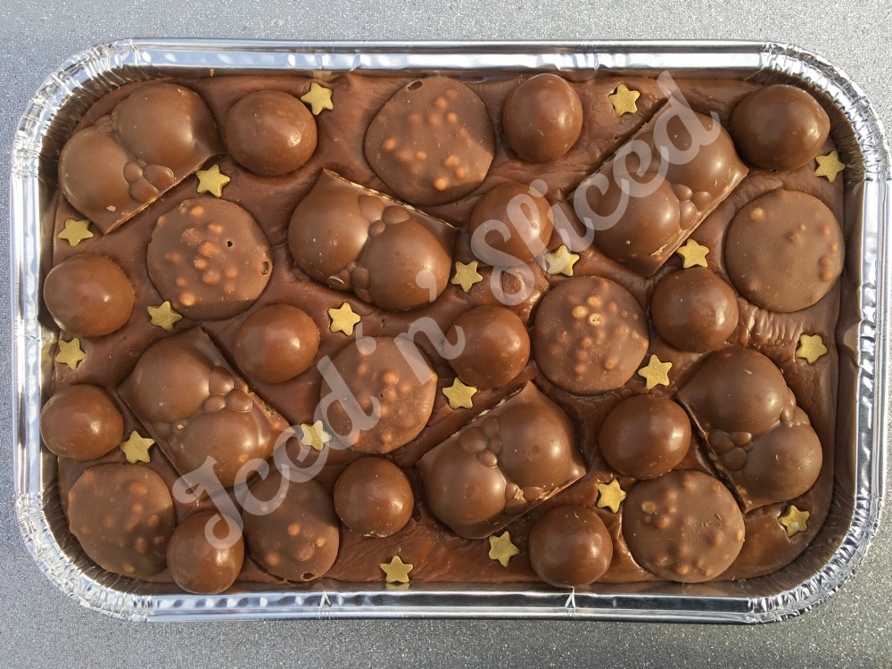 Malteser Madness Milk fudge tray