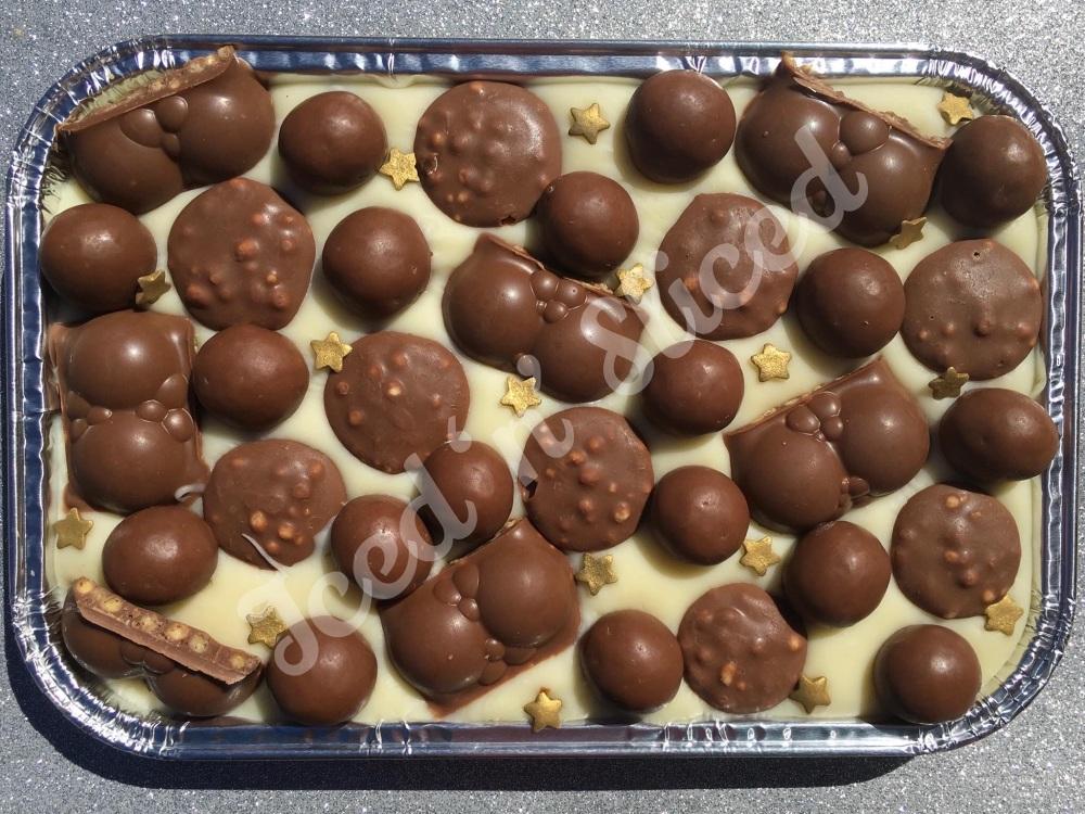 Malteser Madness fudge tray
