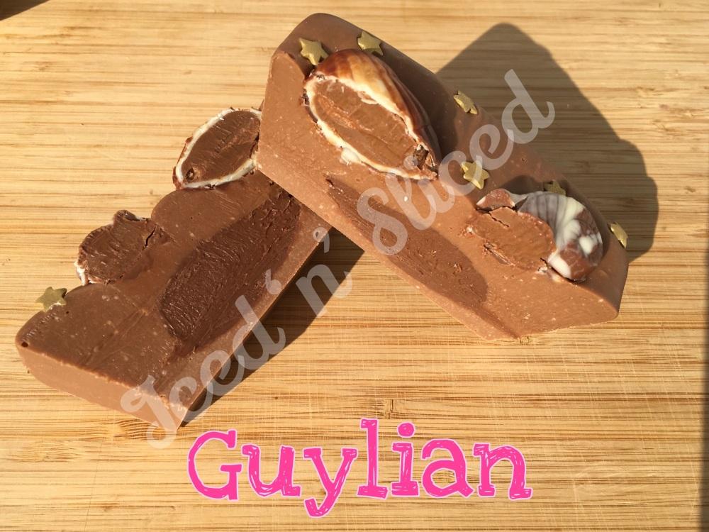 NEW Guylian mini fudge loaf