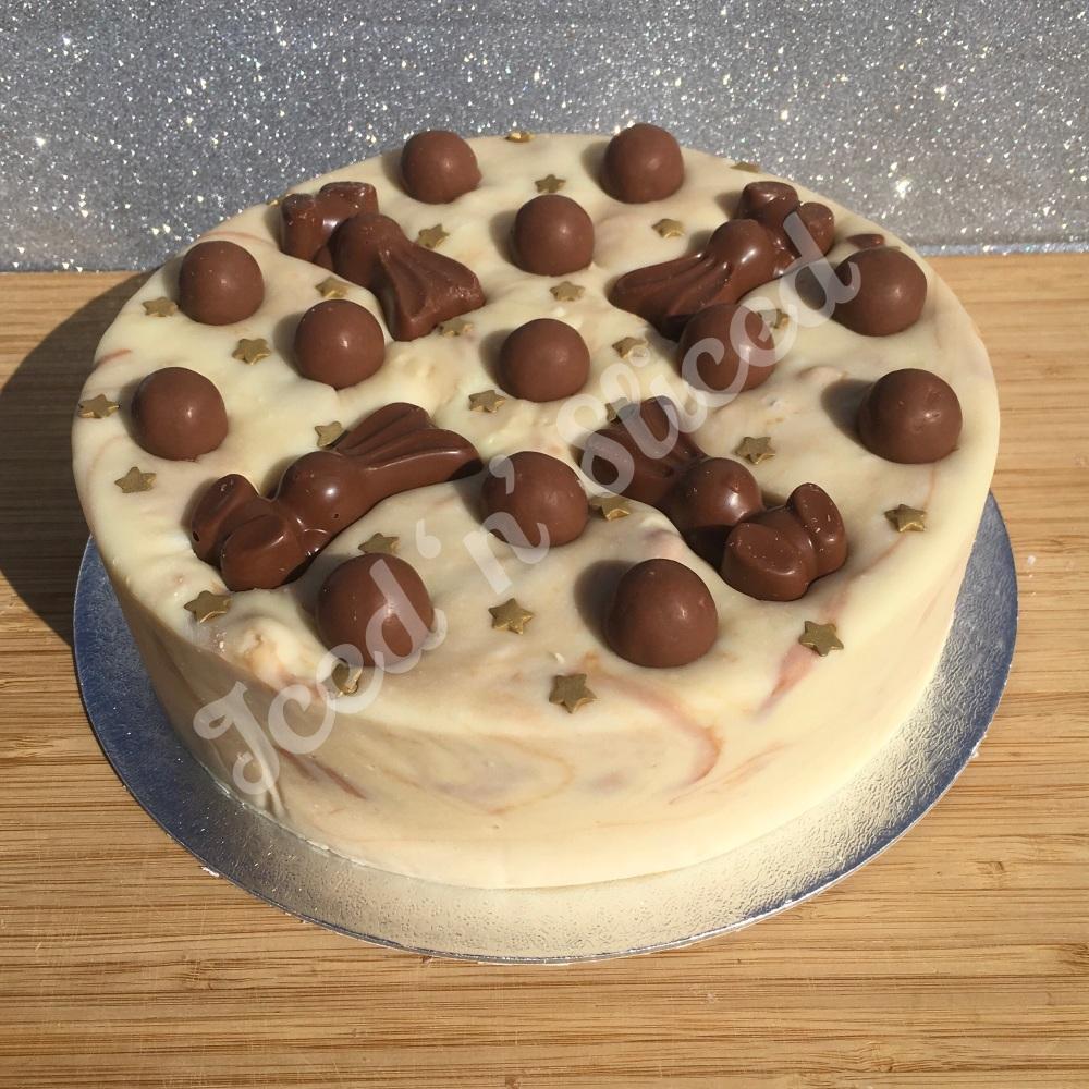 NEW Maltesers solid fudge cake