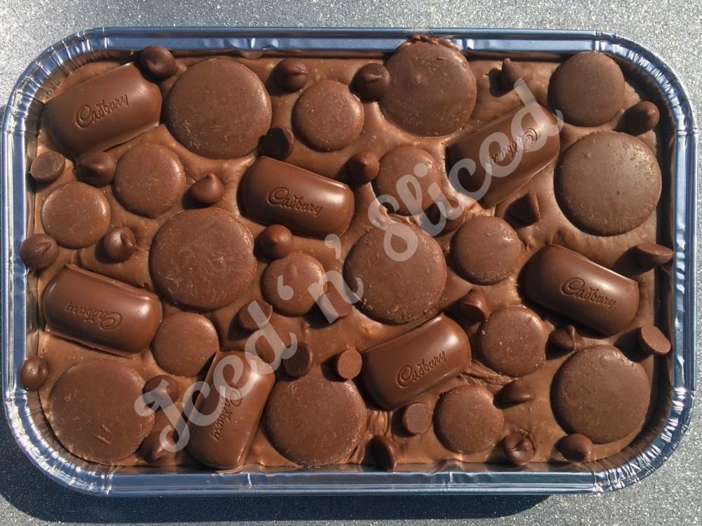 SALE Cadbury Dairy Milk fudge tray