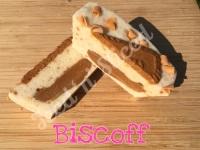 Biscoff mini fudge loaf