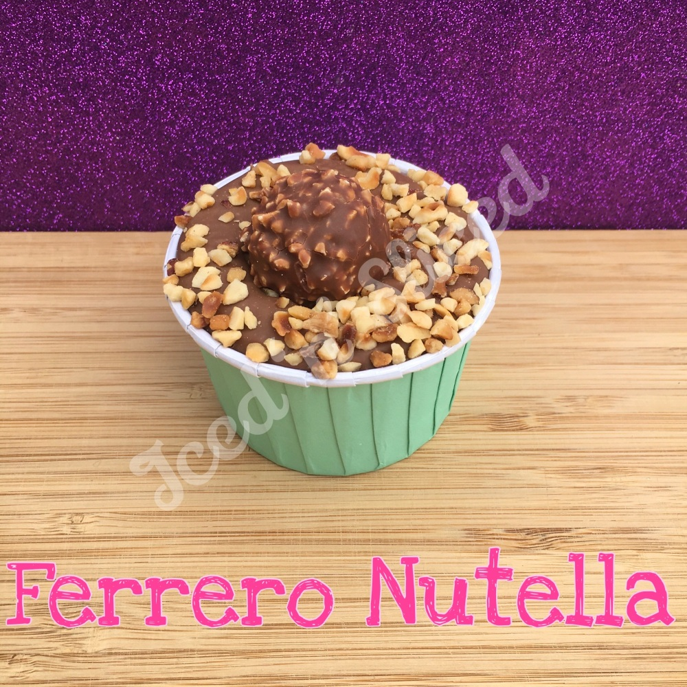 NEW Ferrero Nutella fudge cup