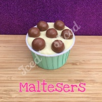 Maltesers fudge cup