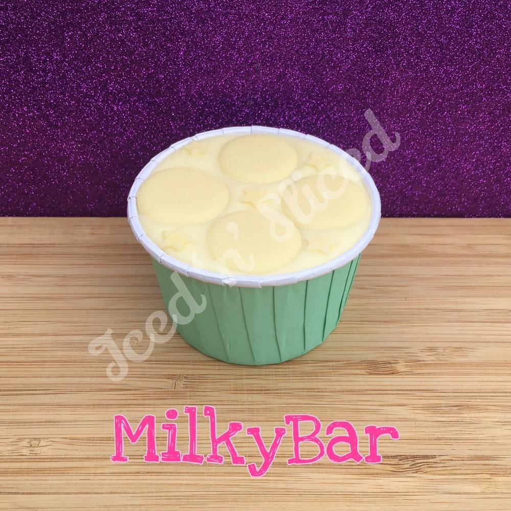 NEW Milkybar fudge cup