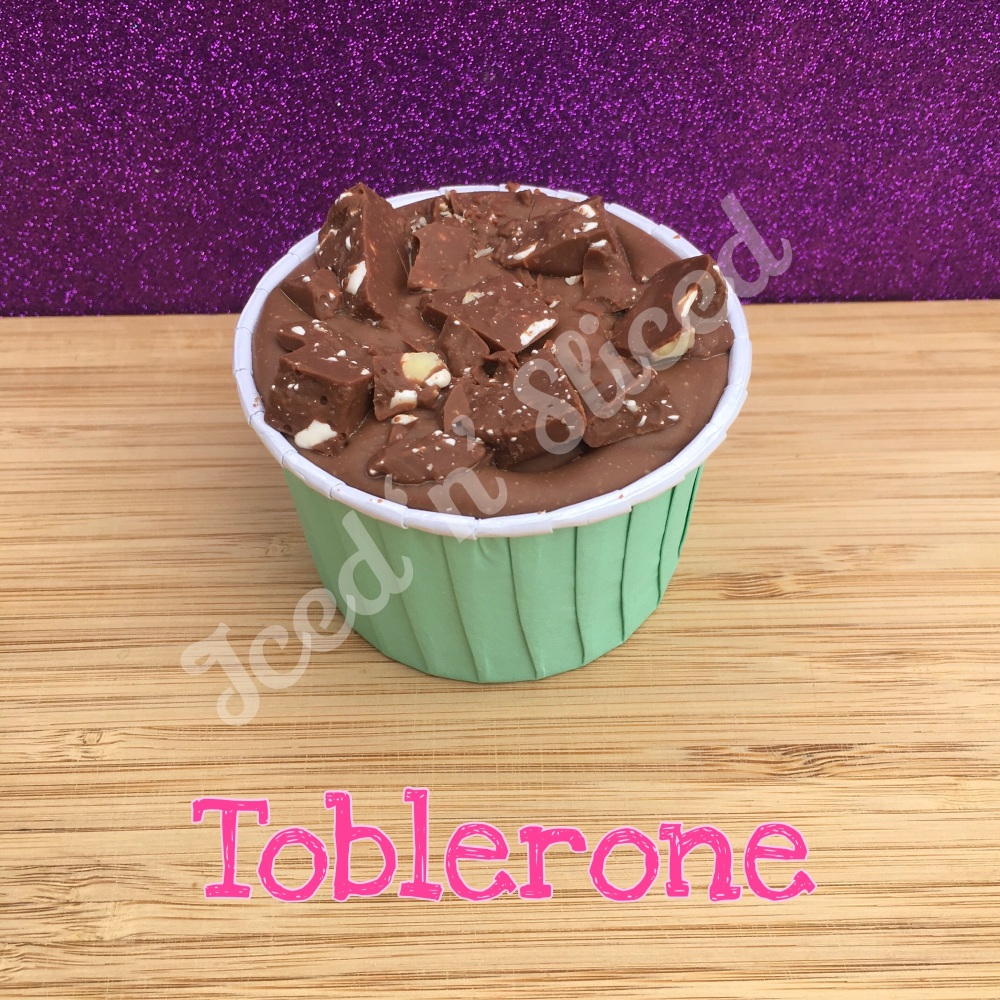 NEW Toblerone fudge cup