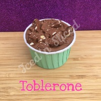 Toblerone fudge cup