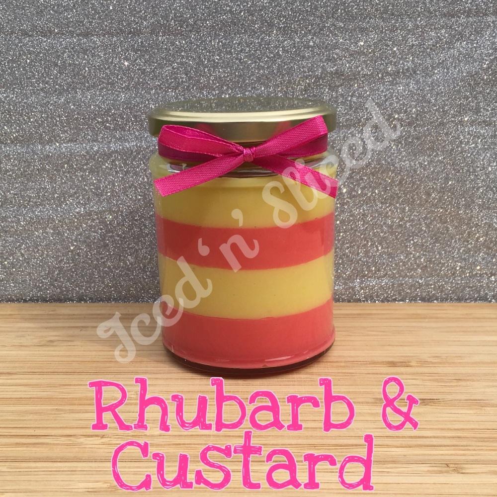 NEW JAR - Rhubarb & Custard little pot of fudge