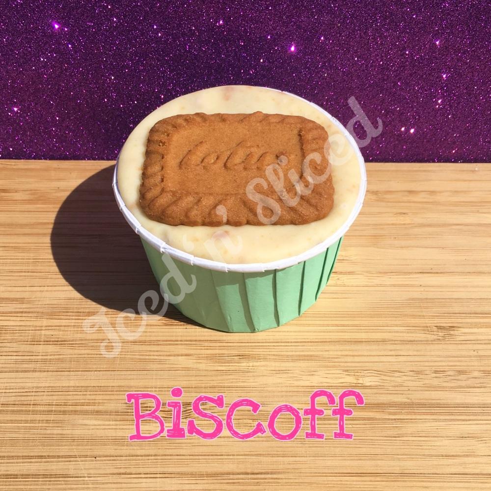 NEW Biscoff fudge cup