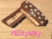 Milkyway mini fudge loaf