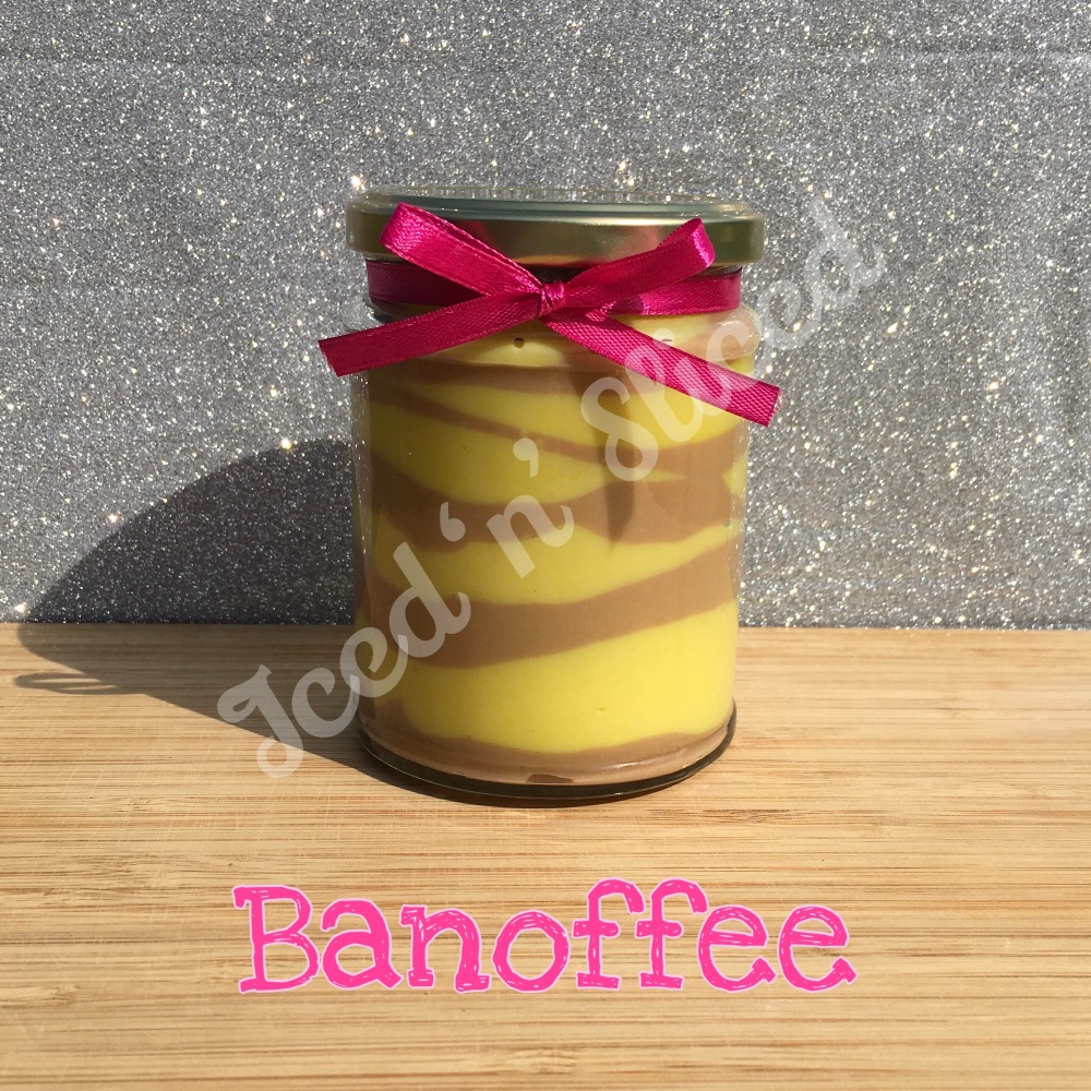 NEW Banoffee little pot of fudge