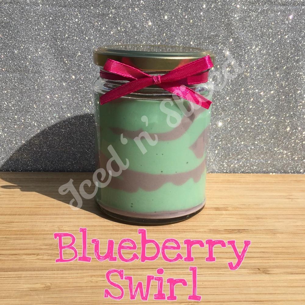 NEW JAR - Blueberry Swirl little pot of fudge