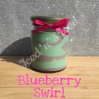 Blueberry Swirl little pot of fudge