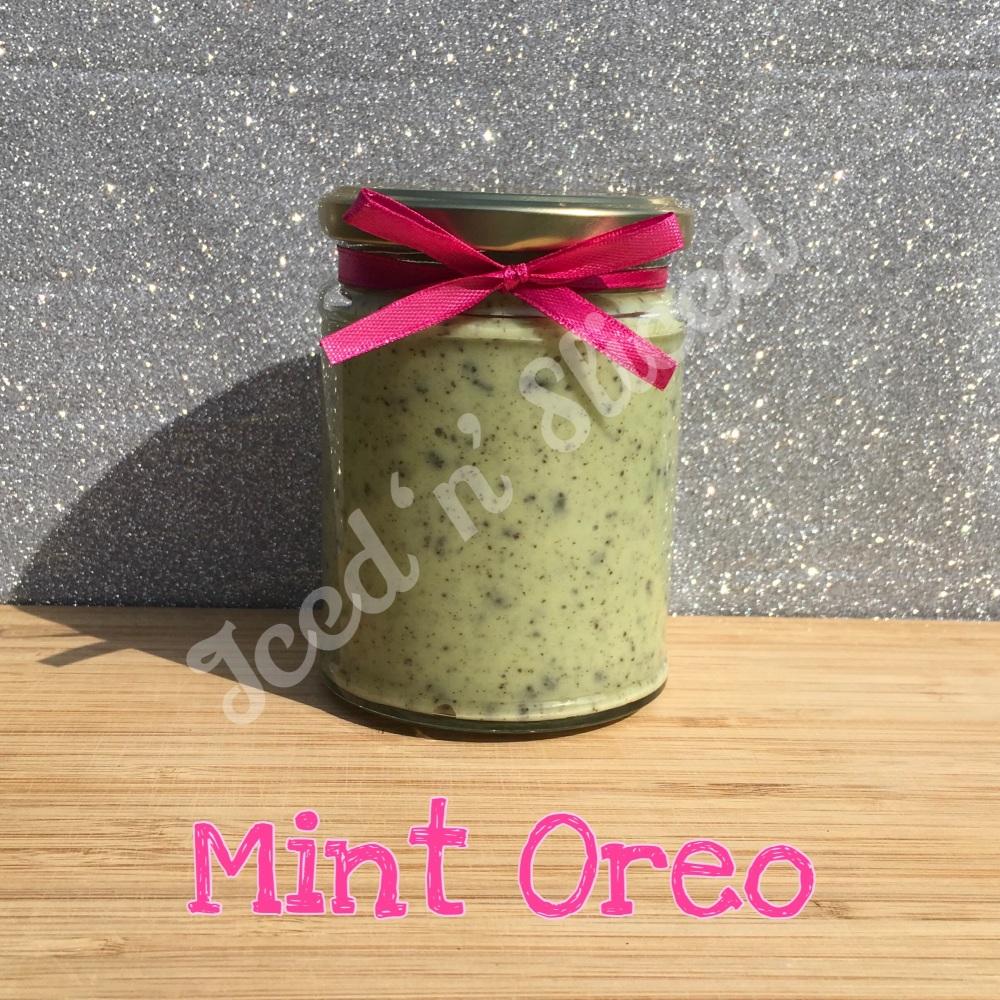 NEW JAR - Mint Oreo little pot of fudge
