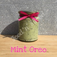 Mint Oreo little pot of fudge