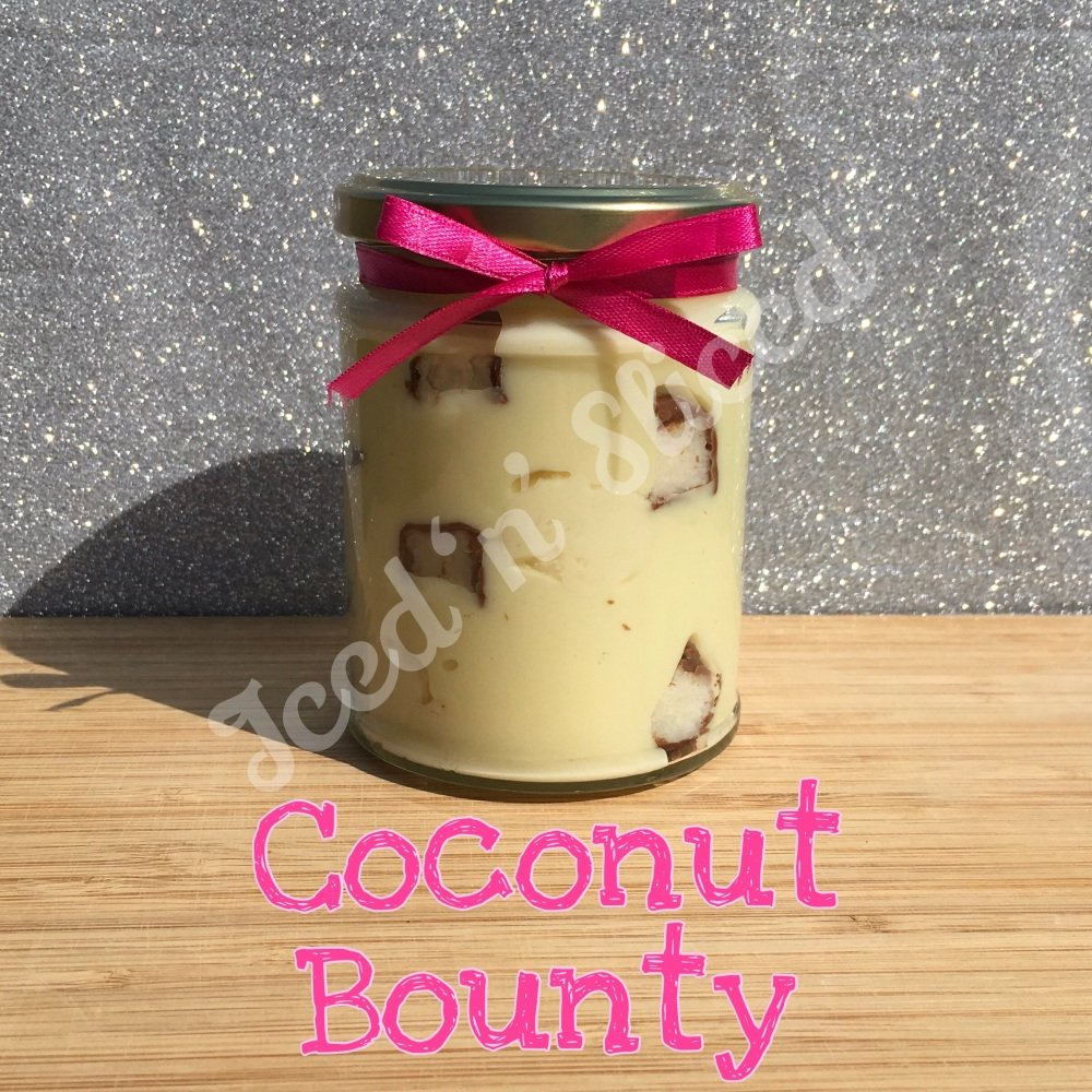 Coconut Bounty little pot of fudge