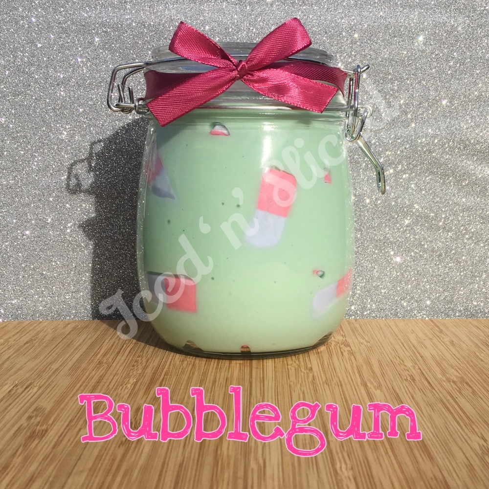 Bubblegum giant pot of fudge