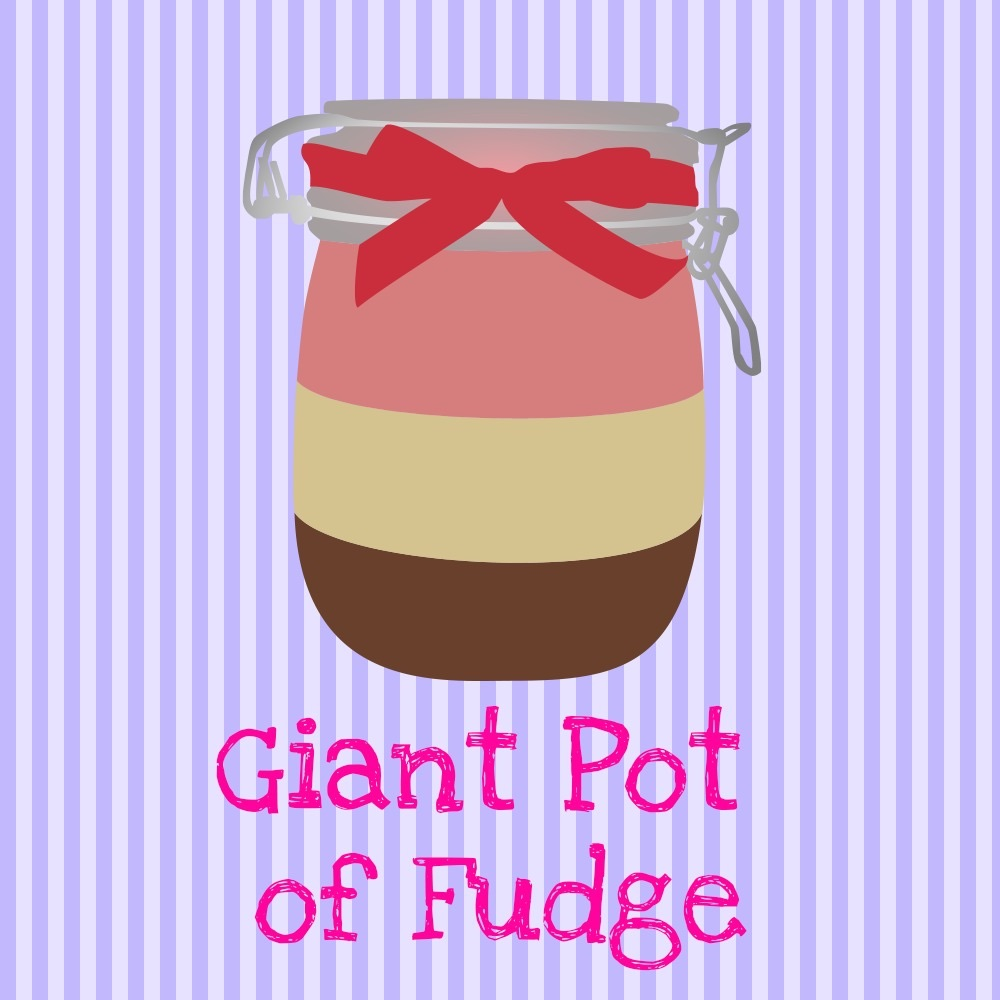 Giant Pot of Fudge