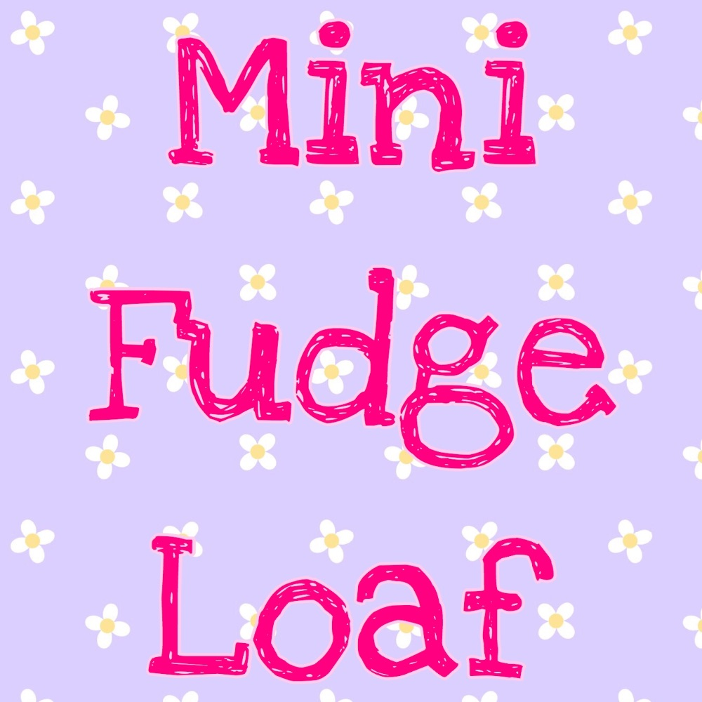 Mini fudge loafs