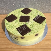 After Eight solid fudge cake