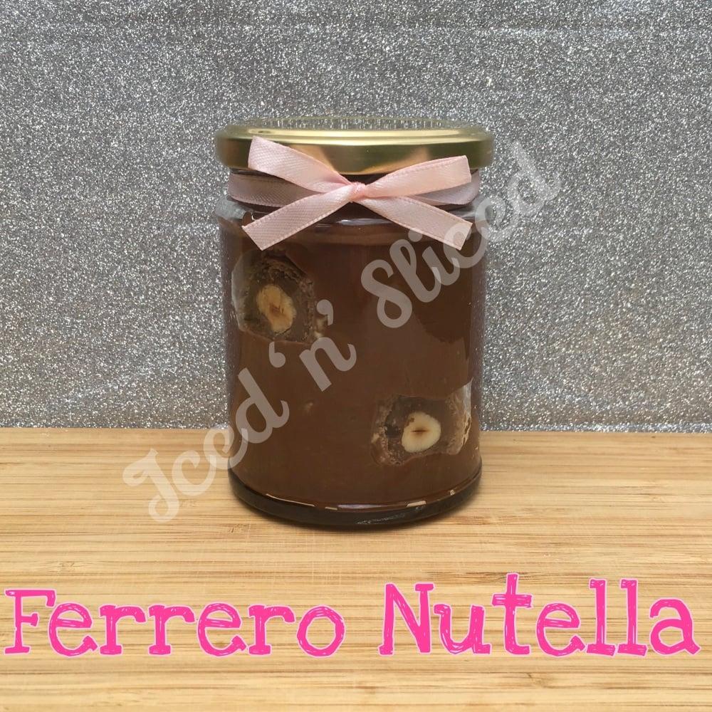 NEW JAR - Ferrero Nutella little pot of fudge