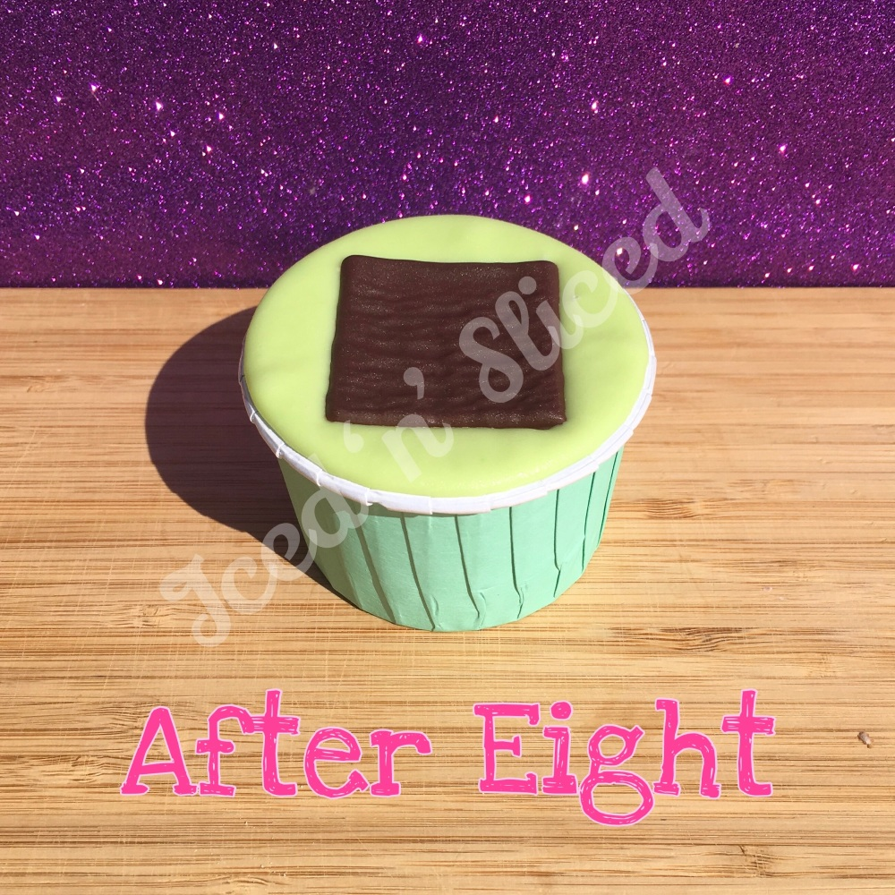 After Eight fudge cup
