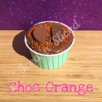 Chocolate Orange fudge cup