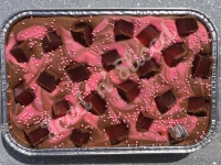 Turkish Delight fudge tray