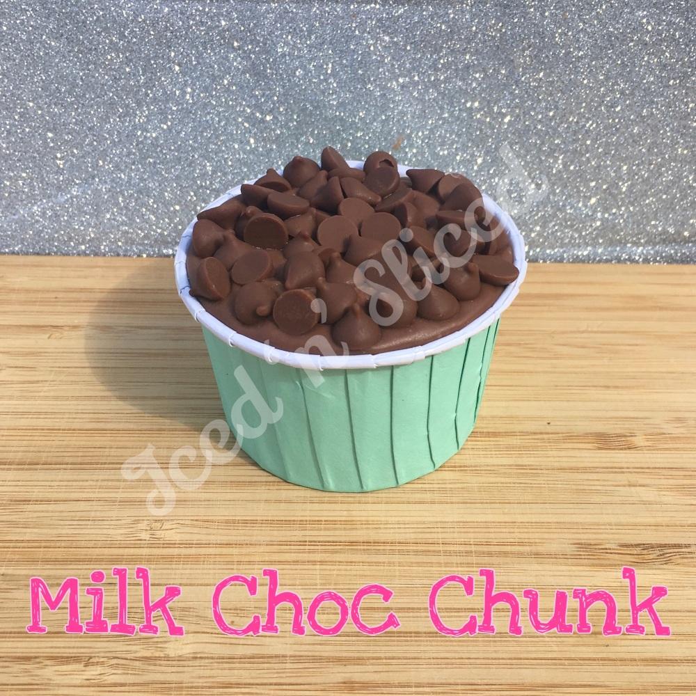 NEW Milk Choc Chunk fudge cup