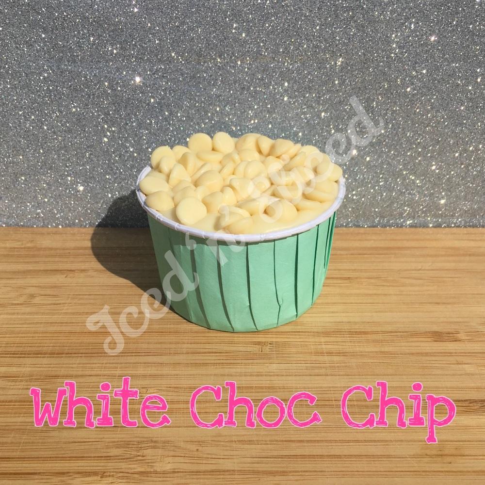 NEW White Choc Chip fudge cup