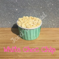 White Choc Chip fudge cup