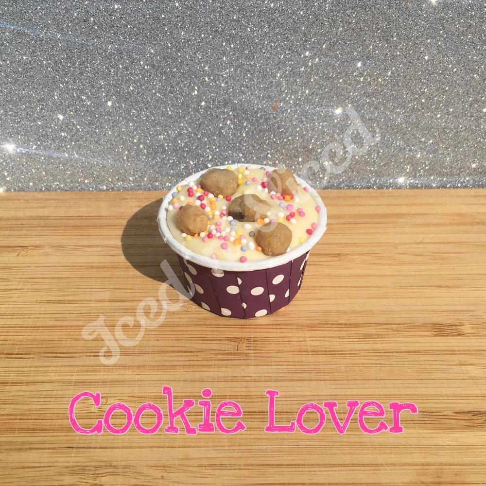 Cookie Lover mini fudge cup