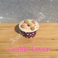 Cookie Lover mini fudge cup