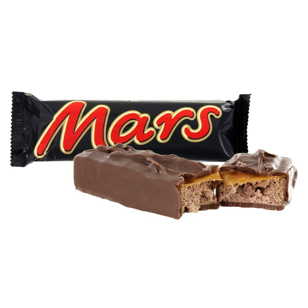 NEW Mars Caramel fudge cup