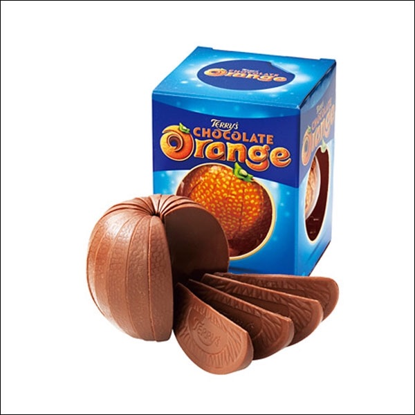NEW Choc Orange mini fudge cup