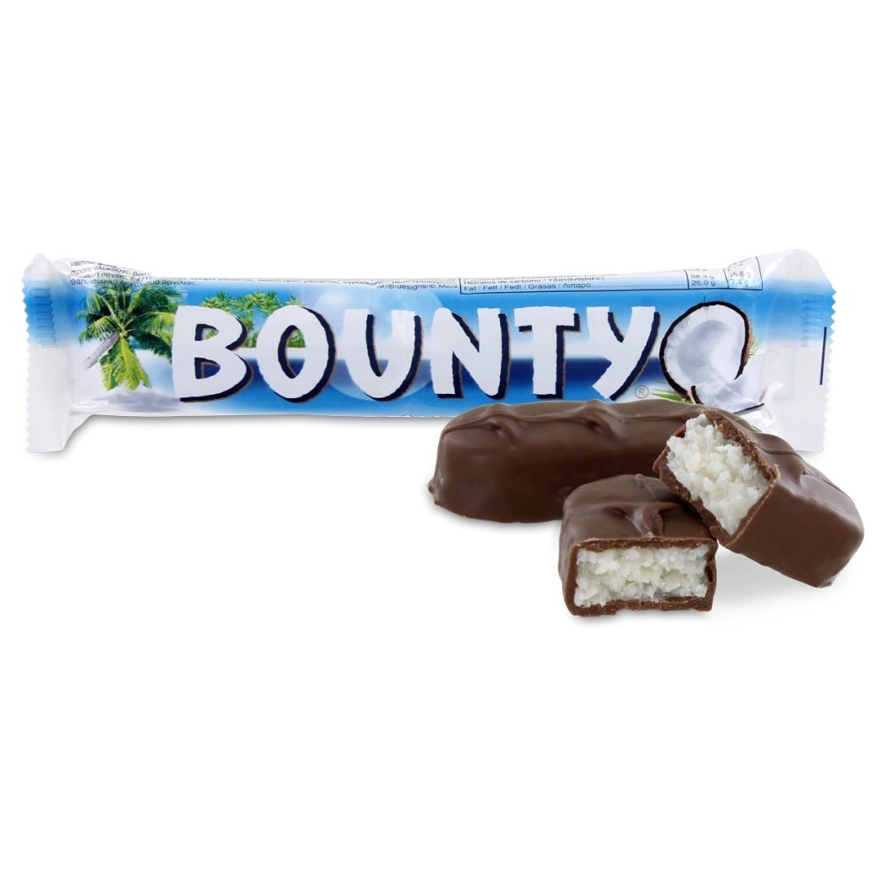 NEW Coconut Bounty mini fudge cup