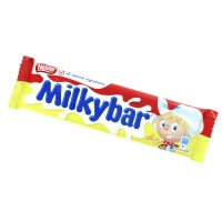 NEW MilkyBar mini fudge cup