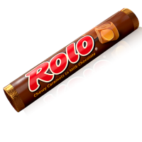 NEW Rolo Caramel mini fudge cup