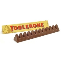NEW Toblerone mini fudge cup