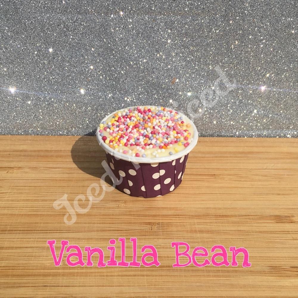 Vanilla Bean Sprinkles mini fudge cup