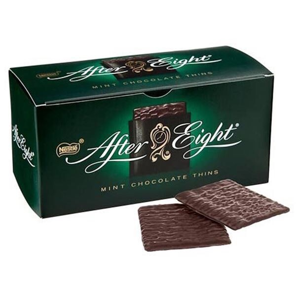 NEW After Eight fudge pizza