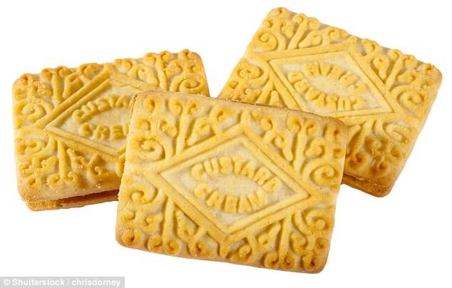 NEW Custard Cream fudge tray
