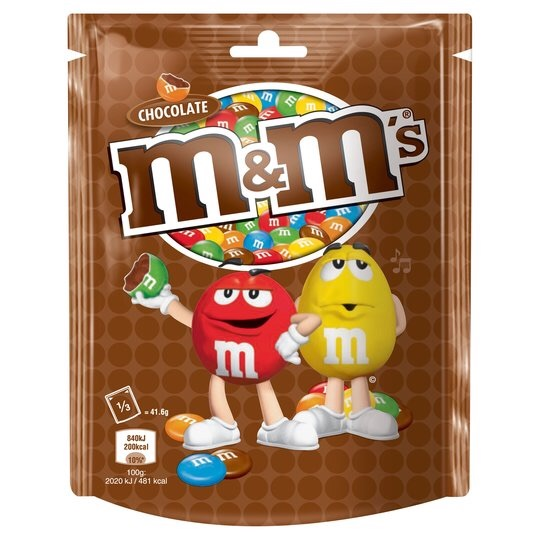 NEW M&M giant pot of fudge
