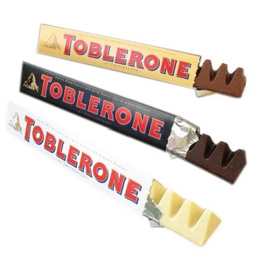 NEW Triple Toblerone little pot of fudge