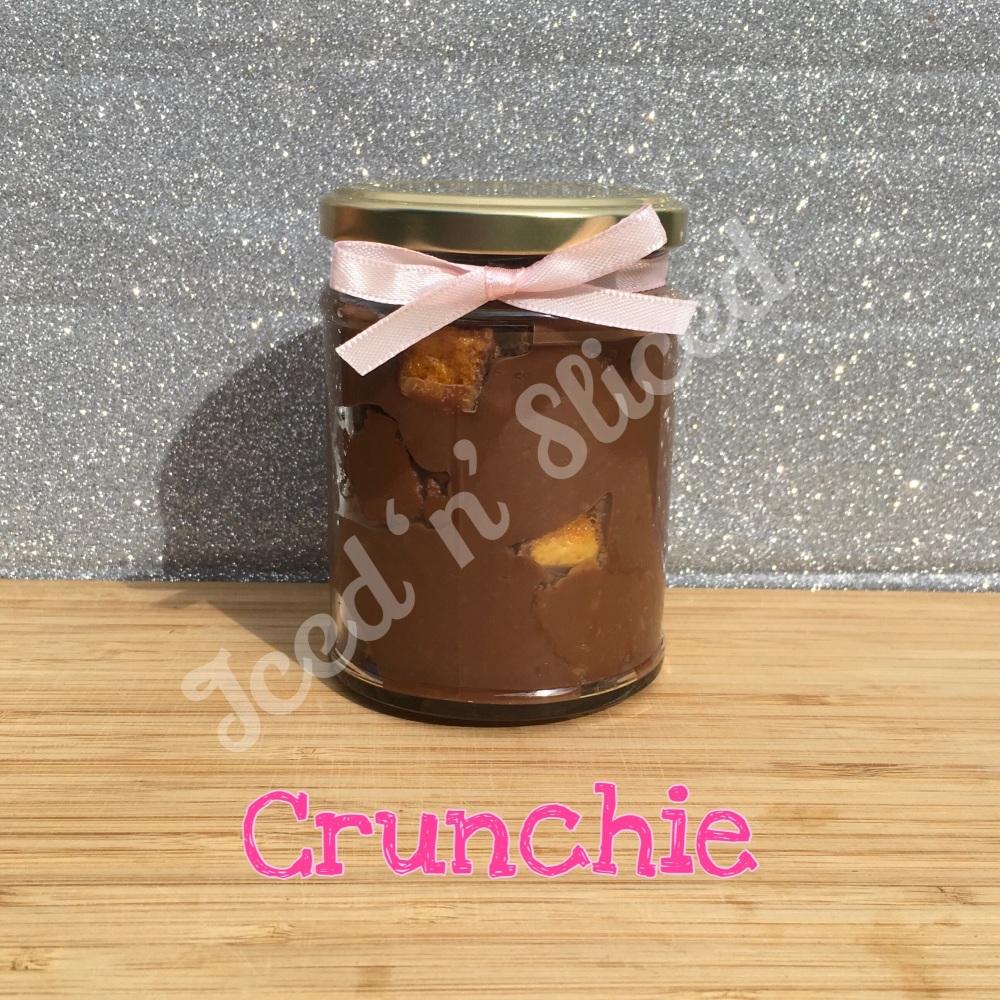 NEW Crunchie little pot of fudge