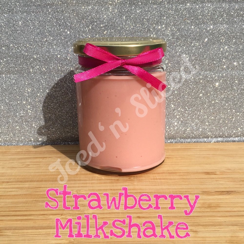 NEW JAR - Strawberry Milkshake little pot of fudge