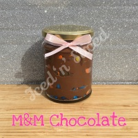 M&M Chocolate little pot of fudge