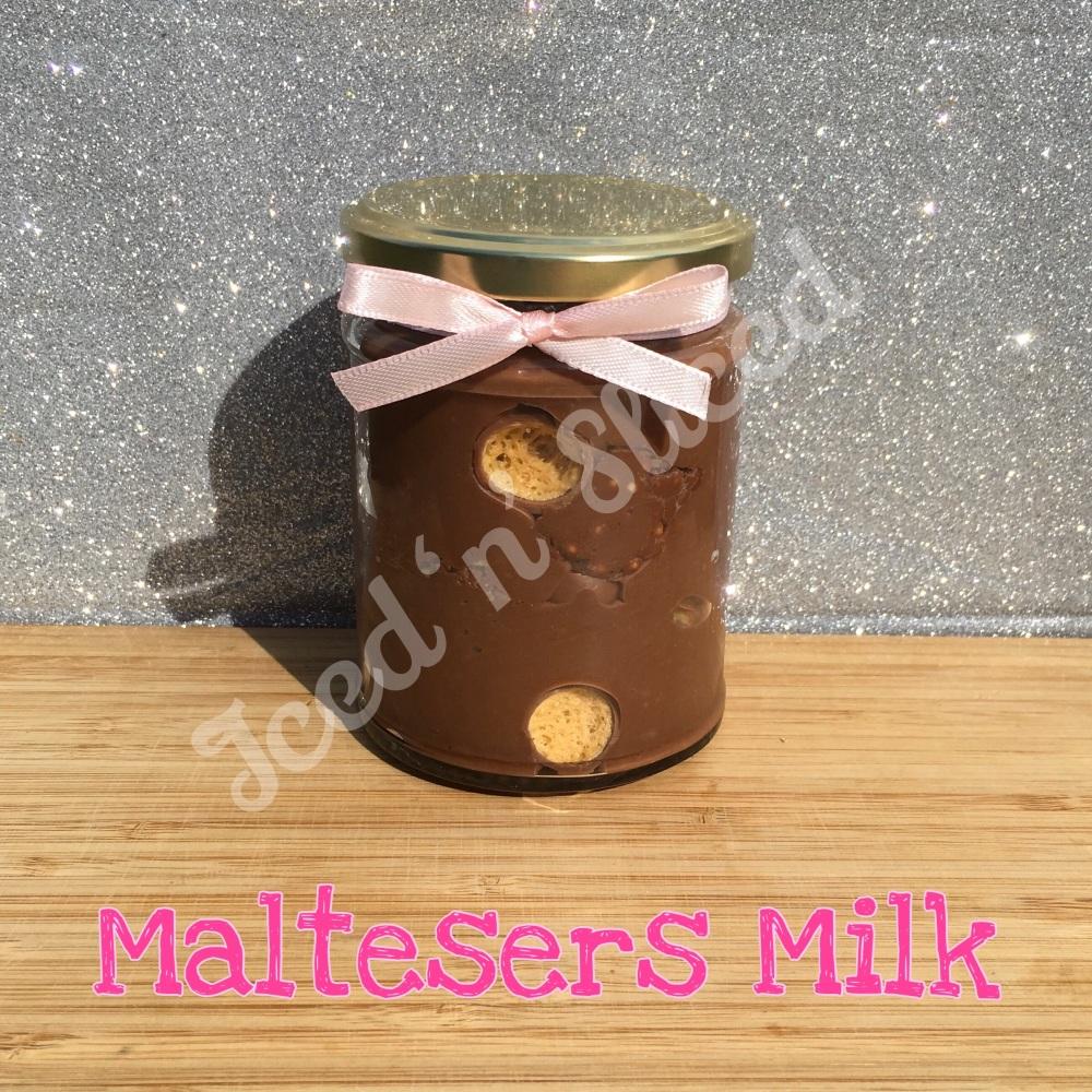 NEW Maltesers Milk little pot of fudge